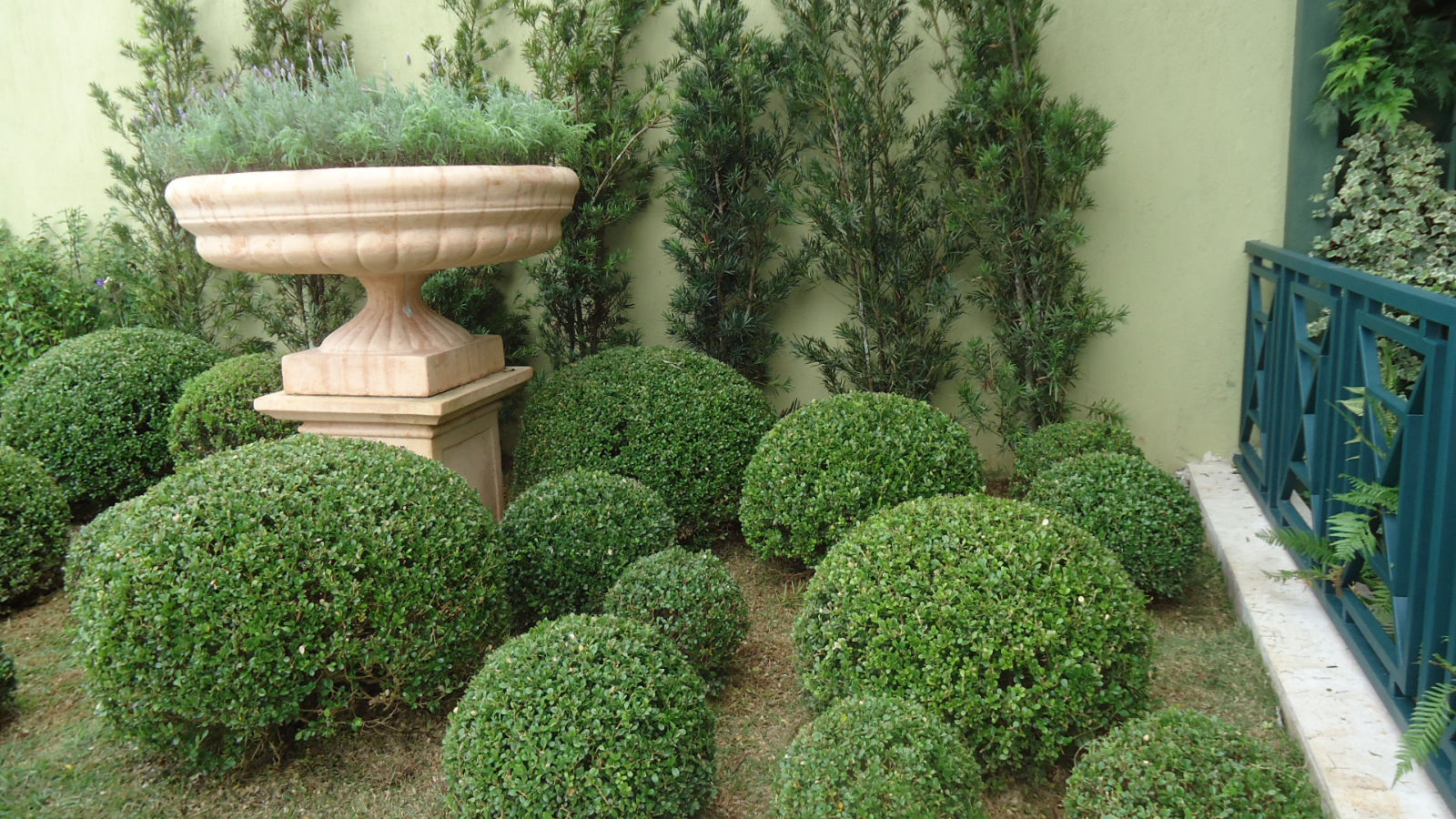 fotos jardins pequenos residenciais:Jardins Residenciais Fotos De Casas Com Jardim Pictures to pin on